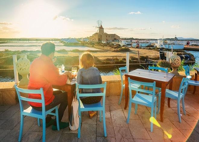 0. Cena sul mare Sicilia